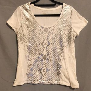 DKNY Snake Print T-Shirt